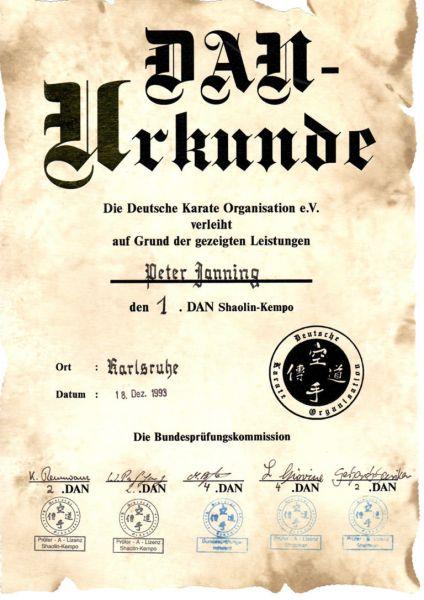 Zertifikate - So Ham Yoga, Niederkassel, Köln, Bonn, Troisdorf